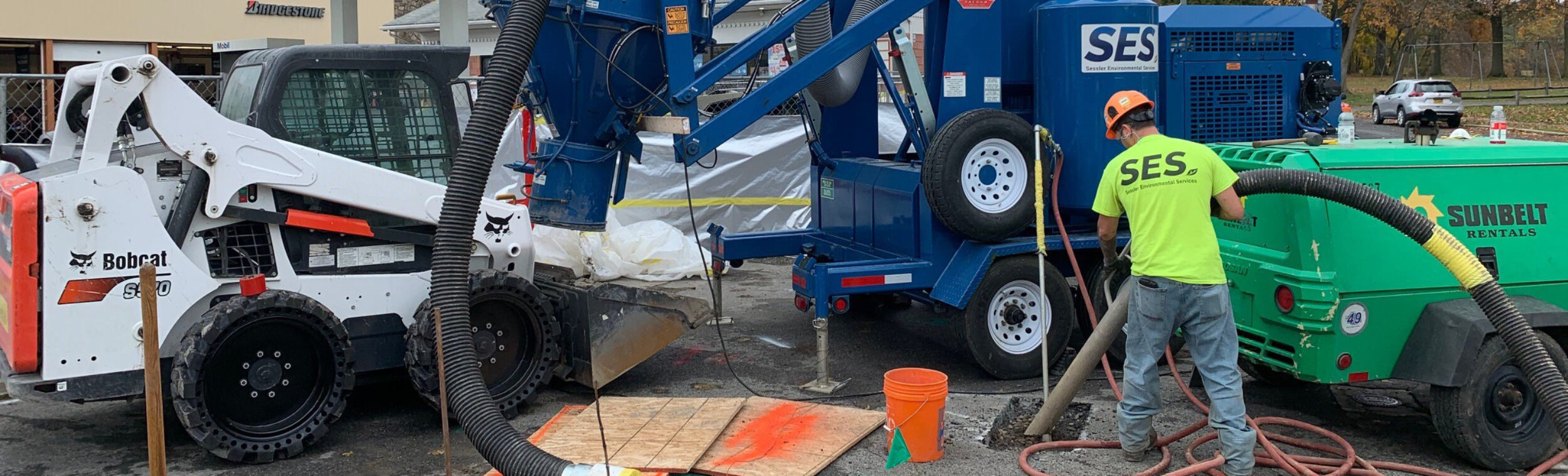 SVE Installation at Fuel Service Station, Eastern New York
