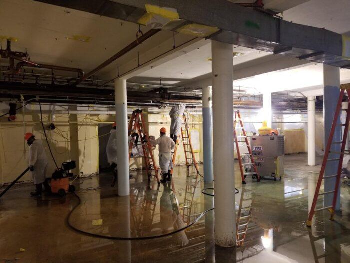 Asbestos Contaminated Demolition, Central NY