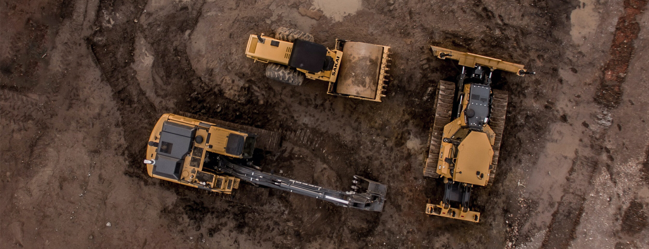 Excavators From Above