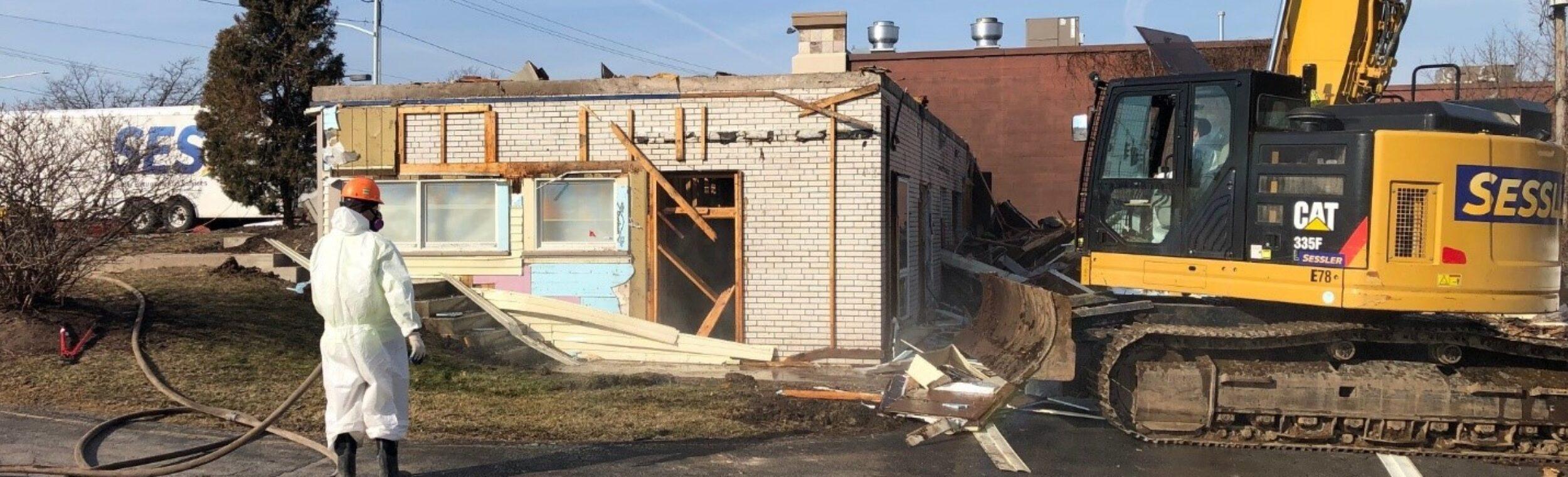 Sessler Environmental Ses Demolition Project Excavator