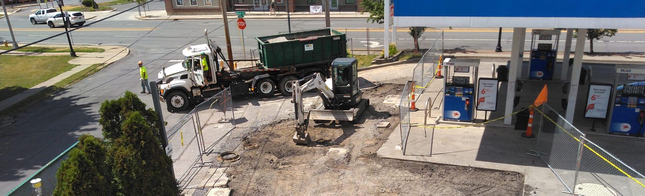 Sve Installation At Fuel Service Station Eastern New York 2